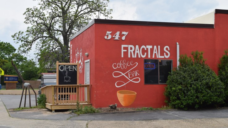 Fractals Coffee and Cafe building