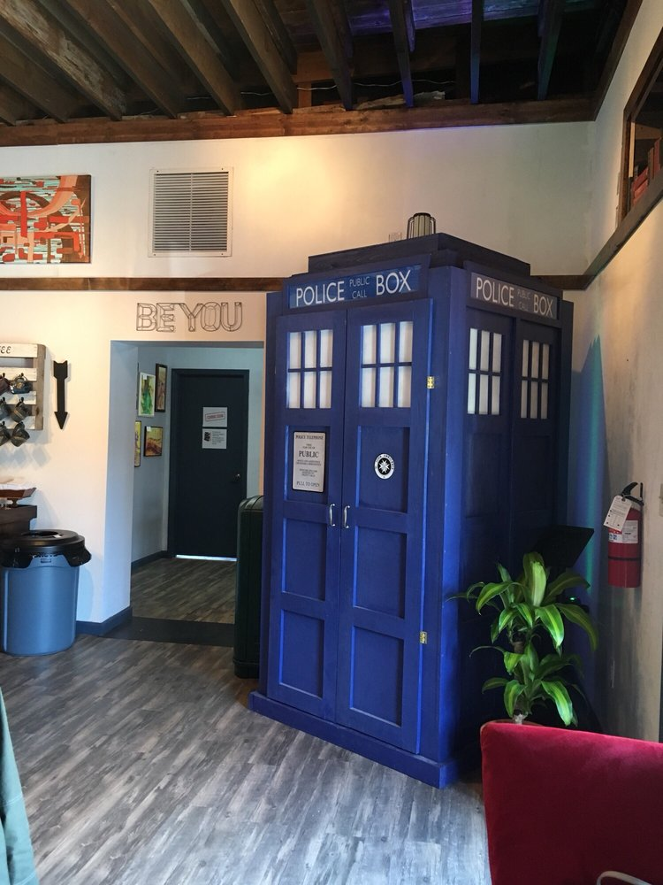 Fractals Coffee and Cafe Tardis