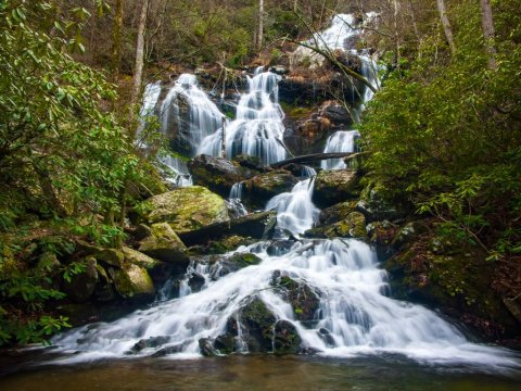 another catawba trails waterfall photo