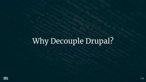 Embedded thumbnail for Demystifying Decoupled Drupal with Contenta CMS