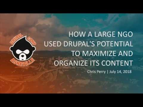 Embedded thumbnail for How a Large NGO Used Drupal's Potential to Maximize and Organize Its Content