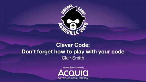 Embedded thumbnail for Clever Code: Don't forget how to play with your code