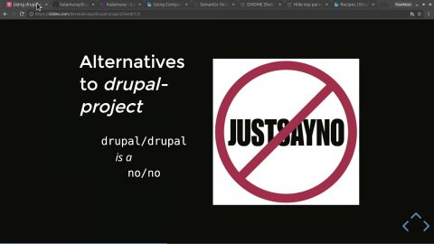 "Embedded thumbnail for How-to: Using ""drupal-project"" with Composer to Craft your Perfect Start-State"