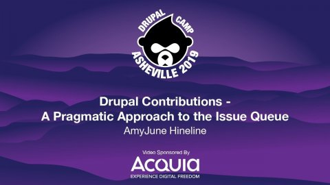 Embedded thumbnail for Drupal Contributions - A Pragmatic Approach to the Issue Queue