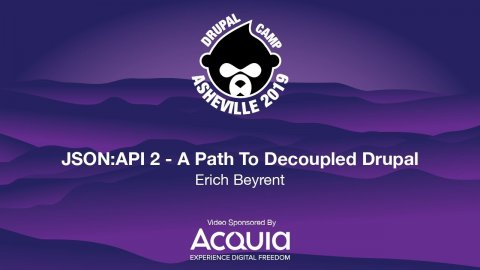 Embedded thumbnail for JSON:API 2 - A Path To Decoupled Drupal