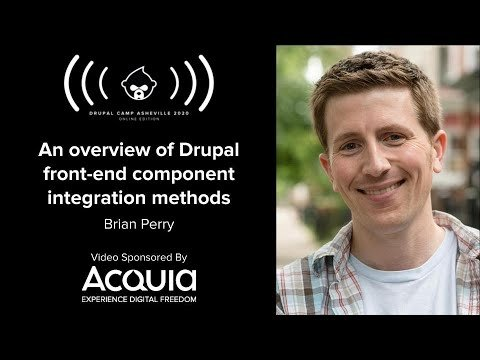 Embedded thumbnail for An overview of Drupal front-end component integration methods
