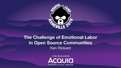 Embedded thumbnail for The Challenge of Emotional Labor in Open Source Communities