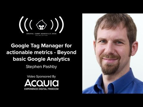 Embedded thumbnail for Google Tag Manager for actionable metrics - Beyond basic Google Analytics