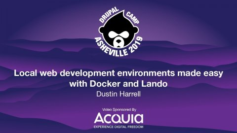 Embedded thumbnail for Local web development environments made easy with Docker and Lando