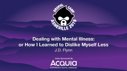 Embedded thumbnail for Dealing with Mental Illness: or How I Learned to Dislike Myself Less