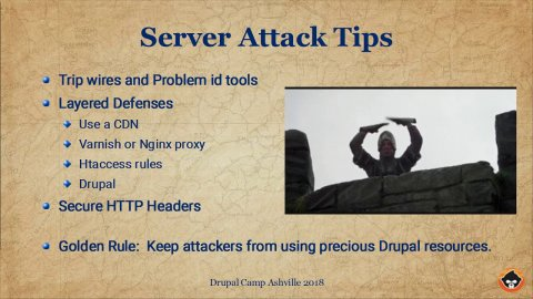 Embedded thumbnail for Tips on Securing Drupal Sites