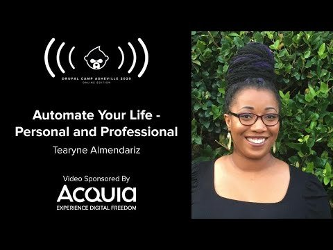 Embedded thumbnail for Automate Your Life - Personal and Professional