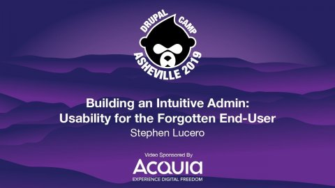 Embedded thumbnail for Building an Intuitive Admin: Usability for the Forgotten End-User