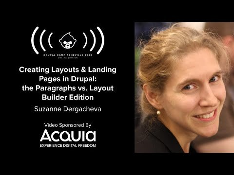 Embedded thumbnail for Creating Layouts & Landing Pages in Drupal: the Paragraphs vs. Layout Builder Edition