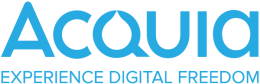 Acquia logo: Experience Digital Freedom