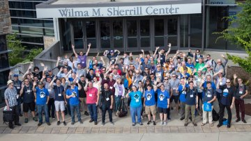 Drupal Camp Asheville 2018 group photo